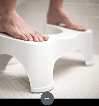 Diseño ergonómico y resistente del Squatty Potty